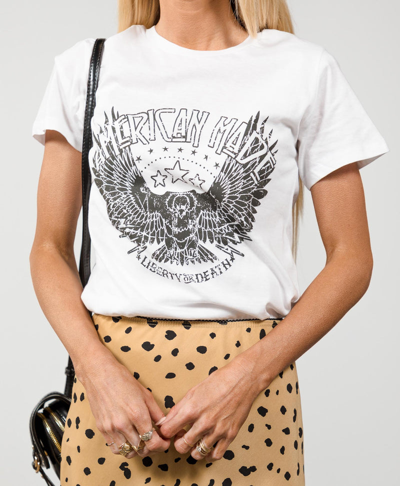 American Made Graphic Top