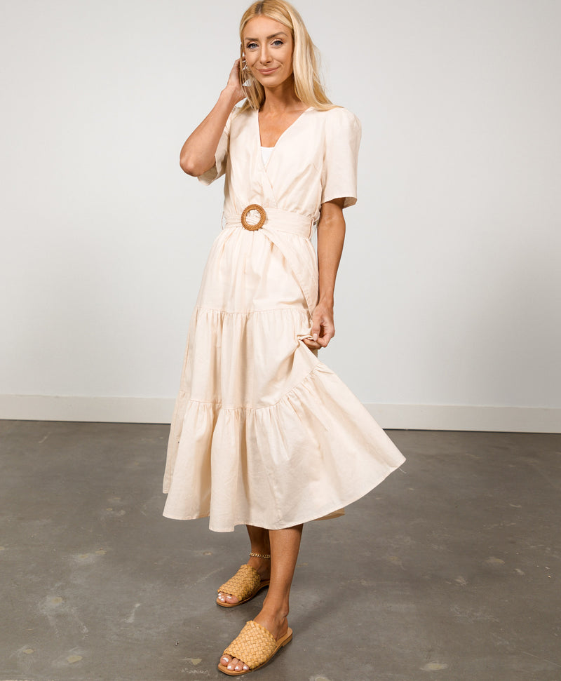 Nola Belted Dress