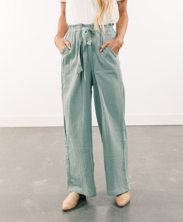 Lindsey Wide Leg Pants