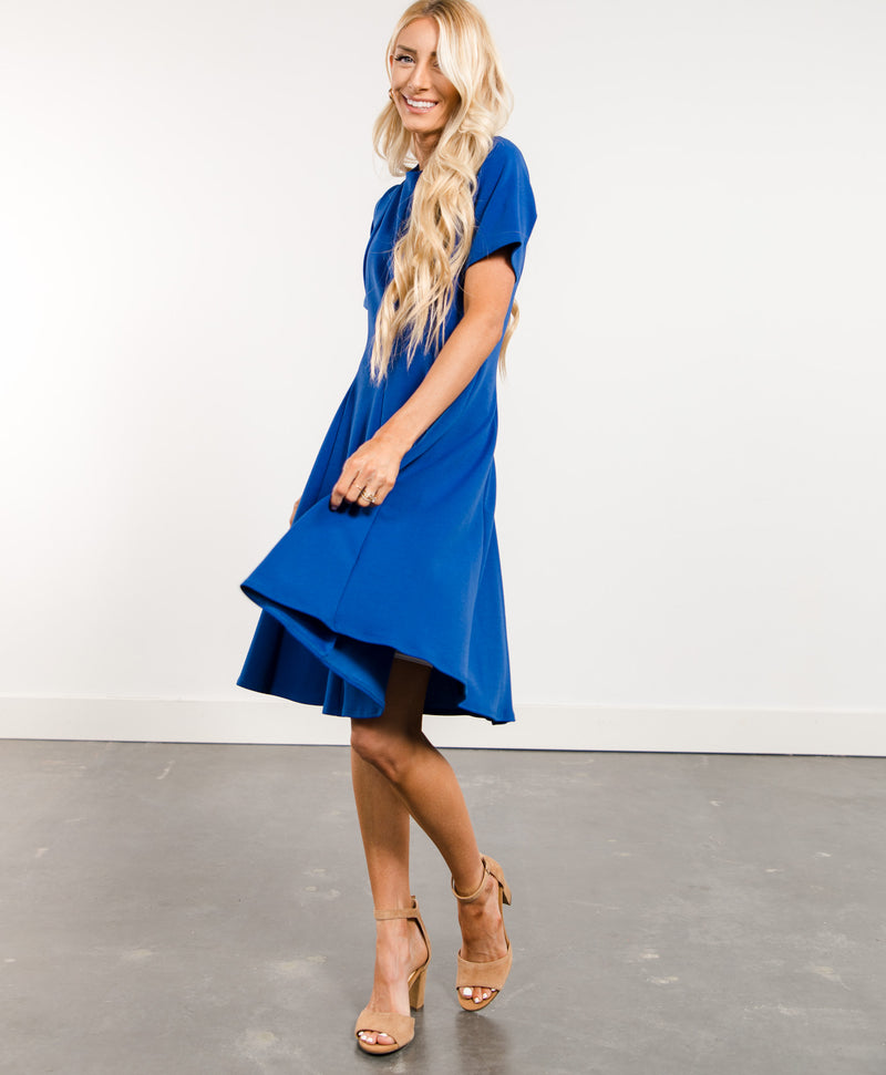 Alexandria Short Sleeve Dress