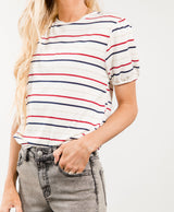 Afton Stripe Top