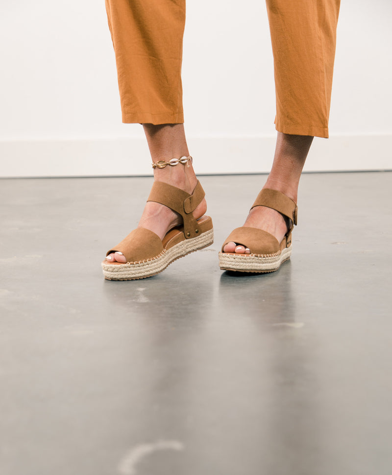 Valley Suede Sandals