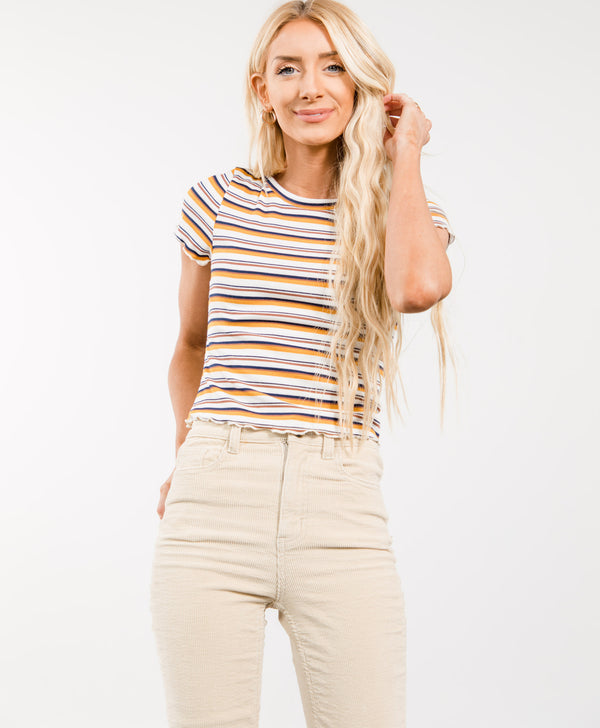Gracie Stripe Top