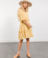 Melinda Ruffle Dress
