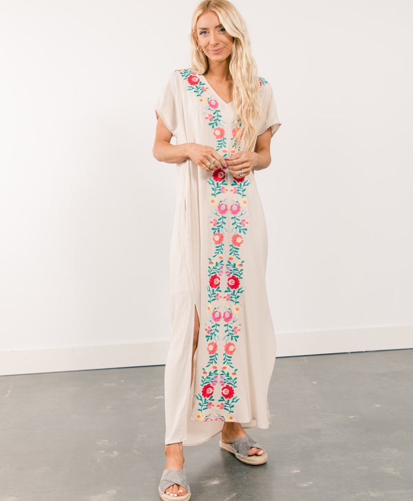 Hilary Embroidered Dress