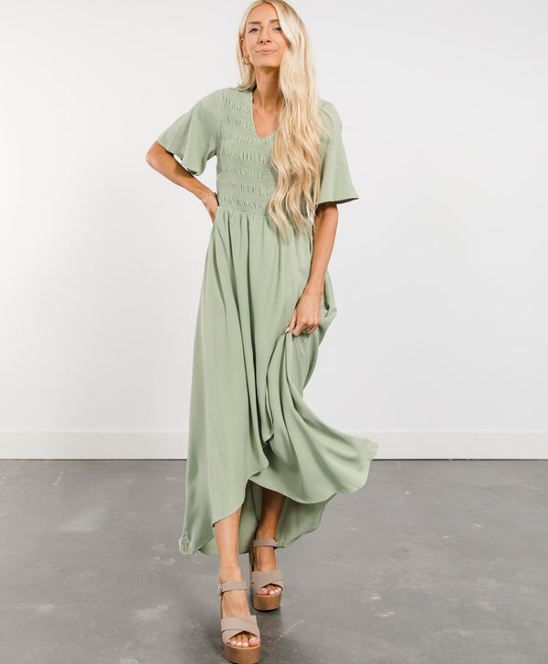 Layla High-Low Dress