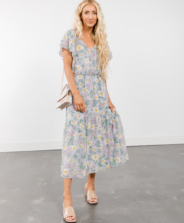 Meaghan Floral Dress