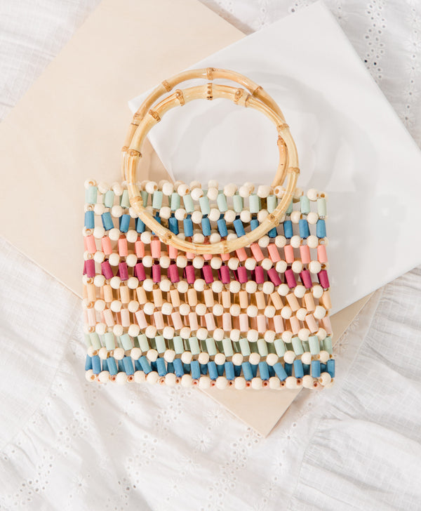 Maldives Beaded Bag