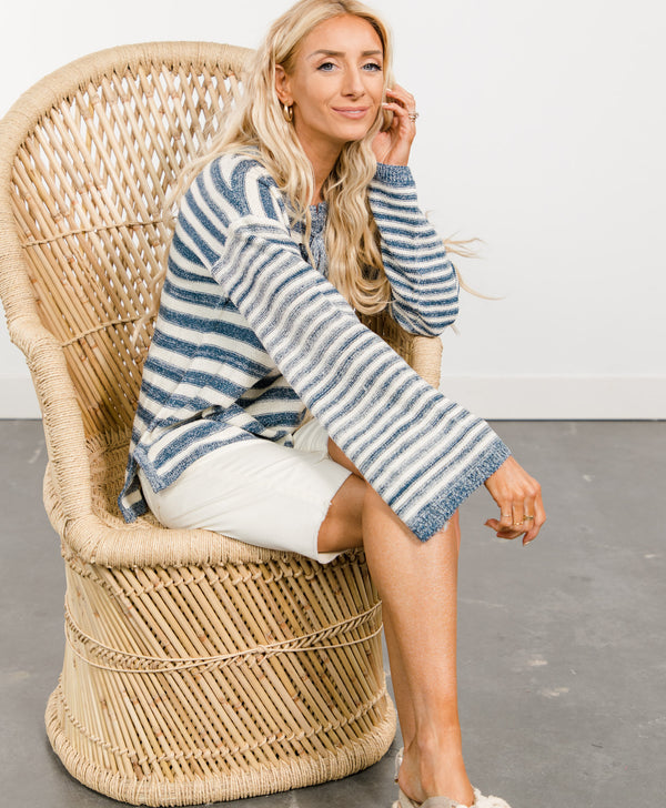 Britley Stripe Top