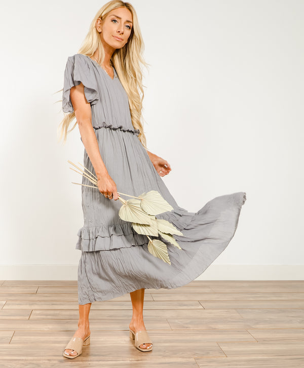 Maren Ruffle Dress
