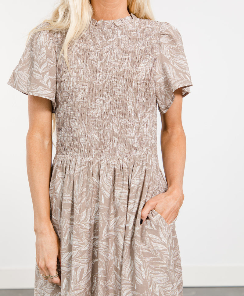 Taysa Printed Dress