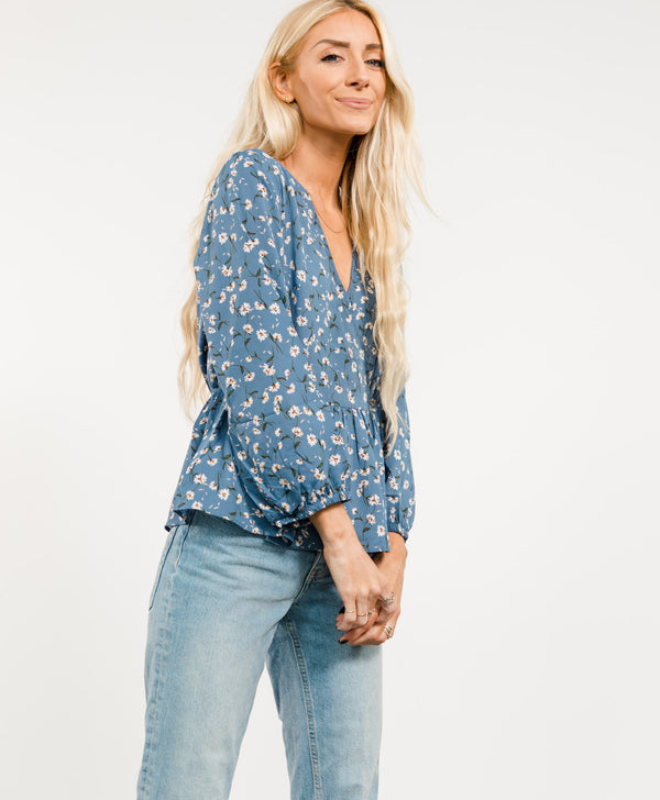 Emma Printed Top