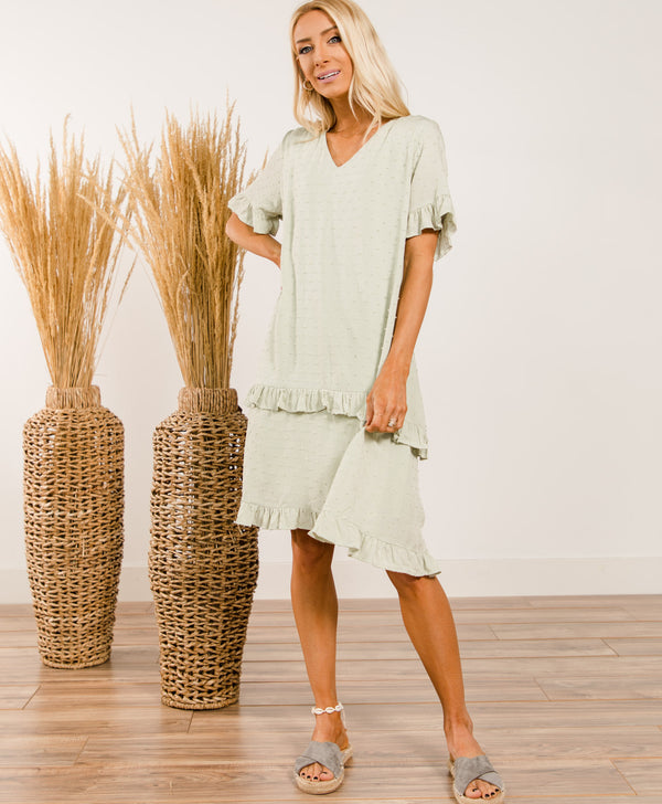 Cassi Ruffle Dress