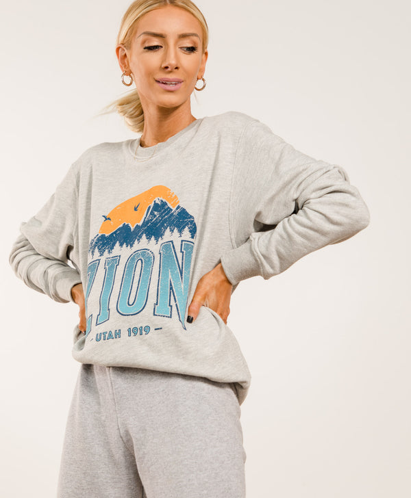 Zion Graphic Sweatshirt