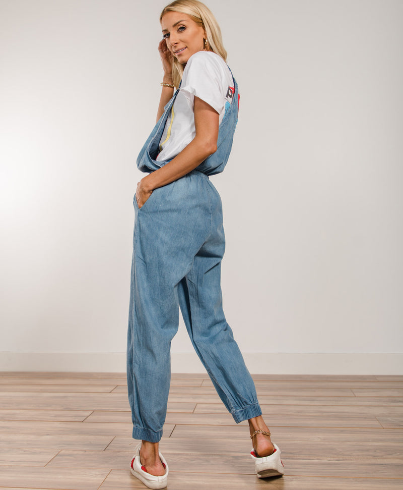Dusty Overall Jumpsuit