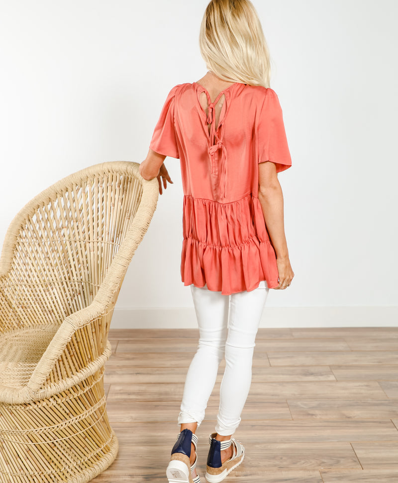 Sharissa Ruffle Top