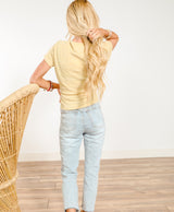 Gold Coast Knot Knit Top