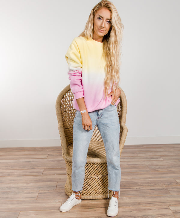 Sunrise Ombre Sweatshirt