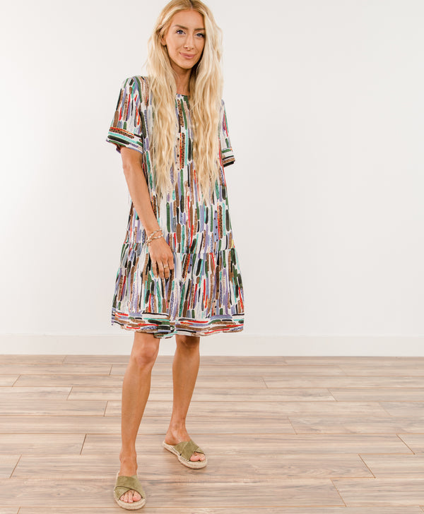 Ophelia Printed Dress