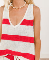 Lottie Stripe Knit Top