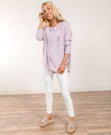 Angelika Henley Top