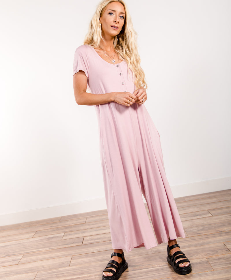 Marta Wide Leg Jumpsuit