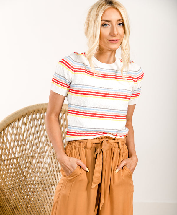 Carnival Stripe Top