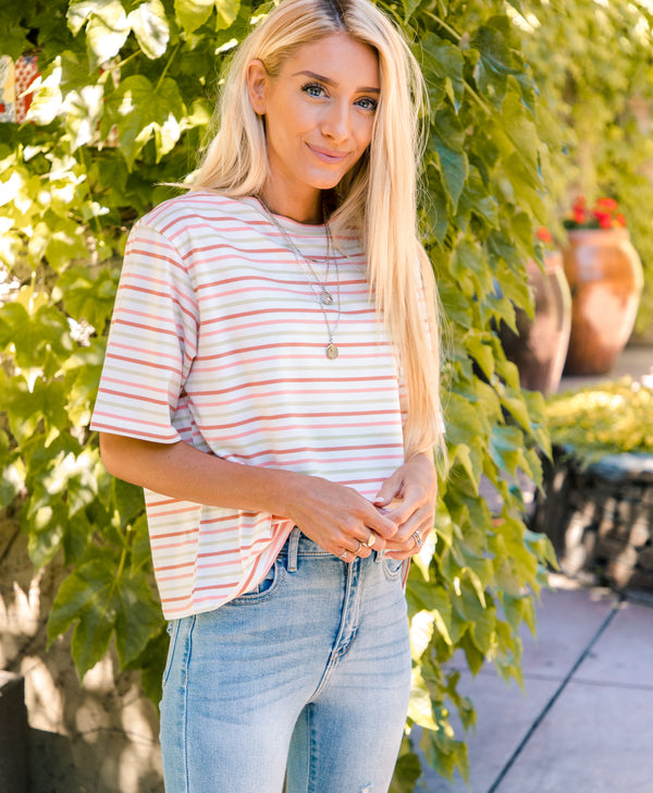 Desiree Stripe Top