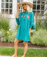 Perla Embroidered Dress