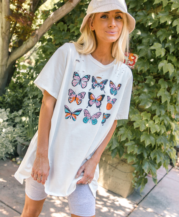 Oversize Butterfly Tee