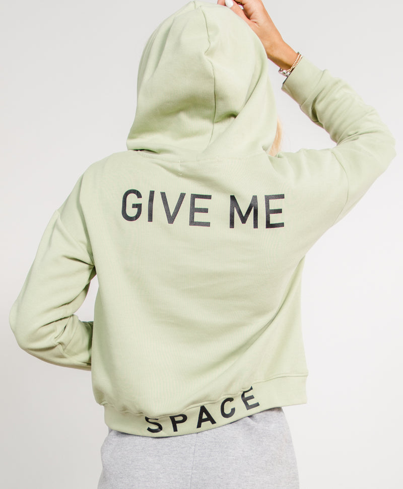 Give Me Space Graphic Hoodie