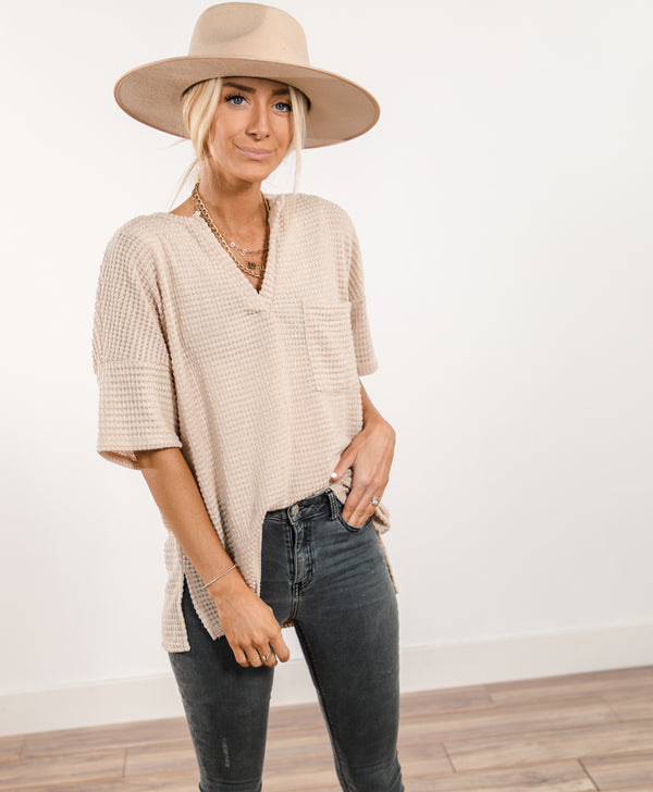 Jada V-Neck Top