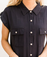 Safari Short Sleeve Top