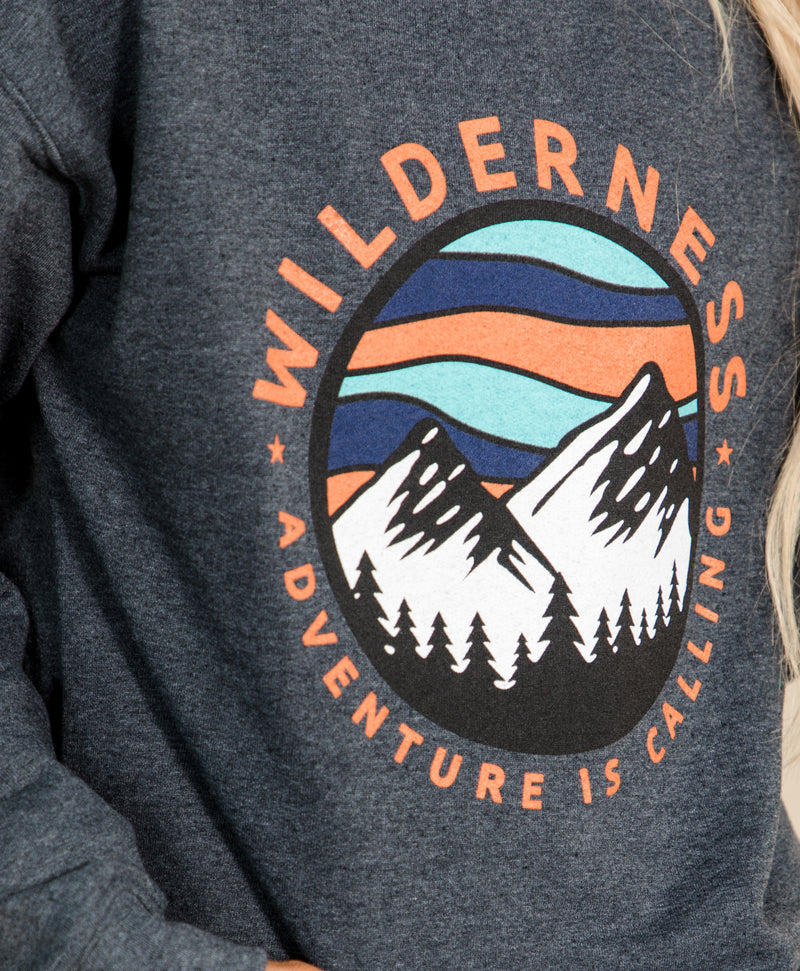 Adventure is Calling Graphic Sweatshirt