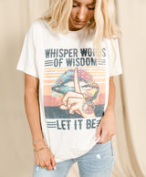 Let It Be Graphic Tee