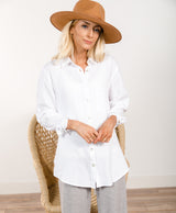 Amie Button Down Top