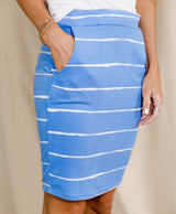 Zuri Stripe Skirt
