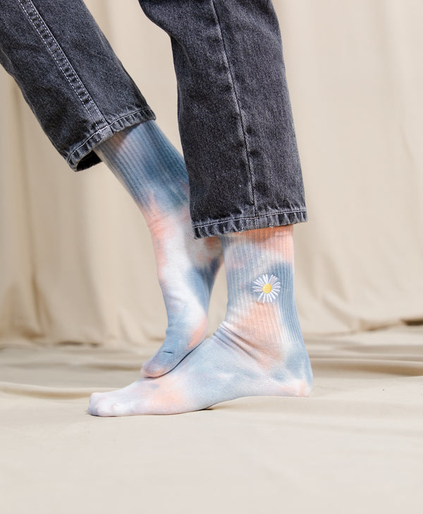 Cotton Candy Tie Dye Socks