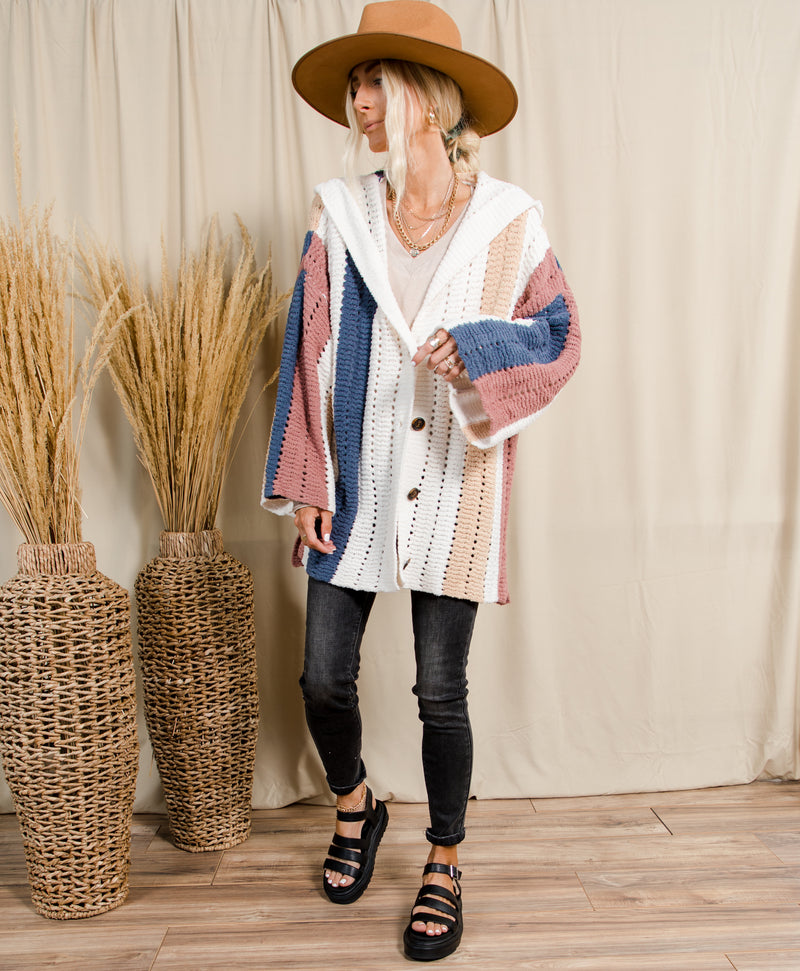 Scarlett Button Up Cardigan