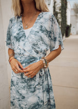 Nixie Tie Dye Wrap Dress