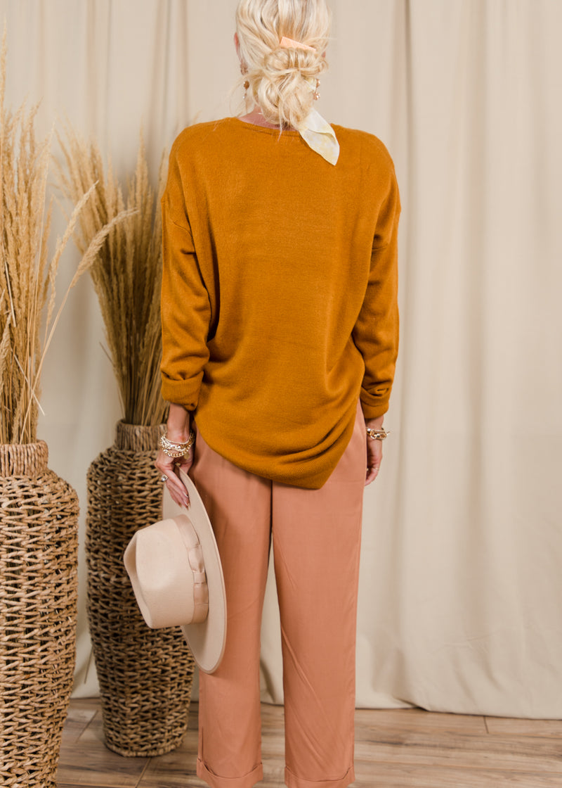Rhea Crew Neck Sweater
