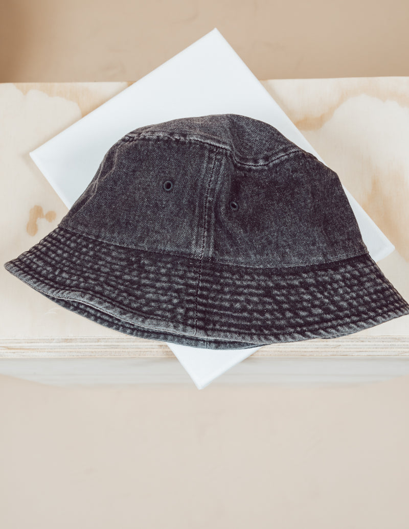Vintage Denim Bucket Hat
