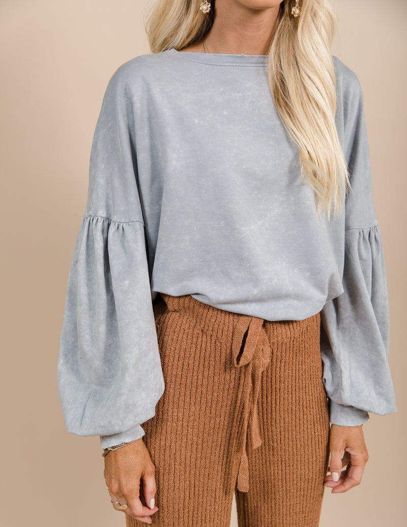 Ari Acid Washed Sweatshirt