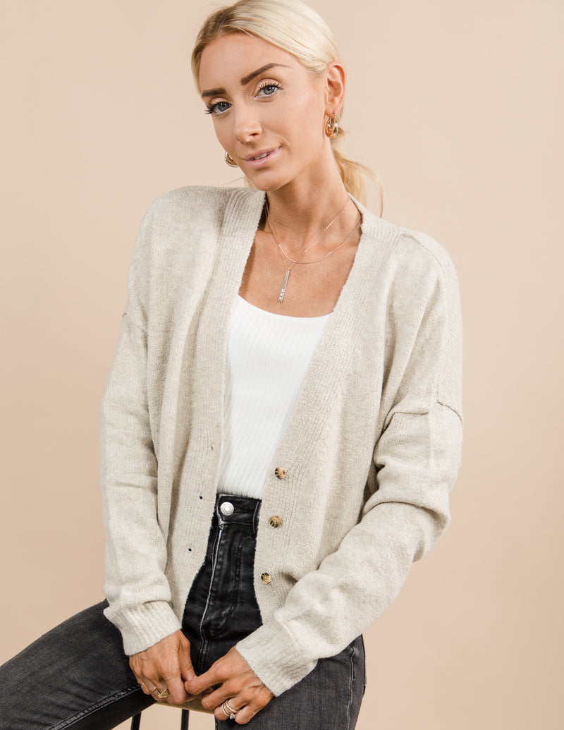 Theo Cropped Cardigan