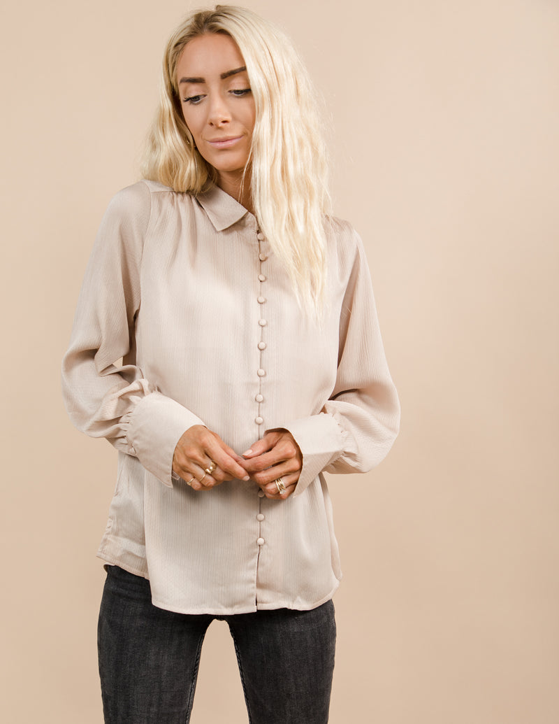 Brooklyn Satin Shirt