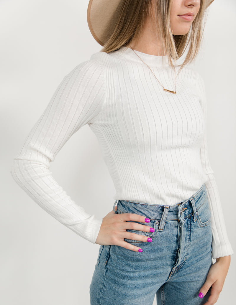 Eleanor Fitted Sweater