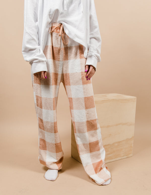 Olivia Plaid Lounge Pants