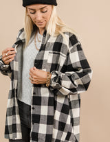 Archer Flannel Top