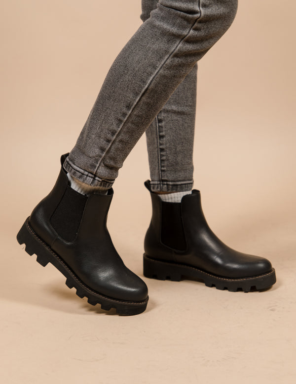 Jessie Booties in Black Pre-Order