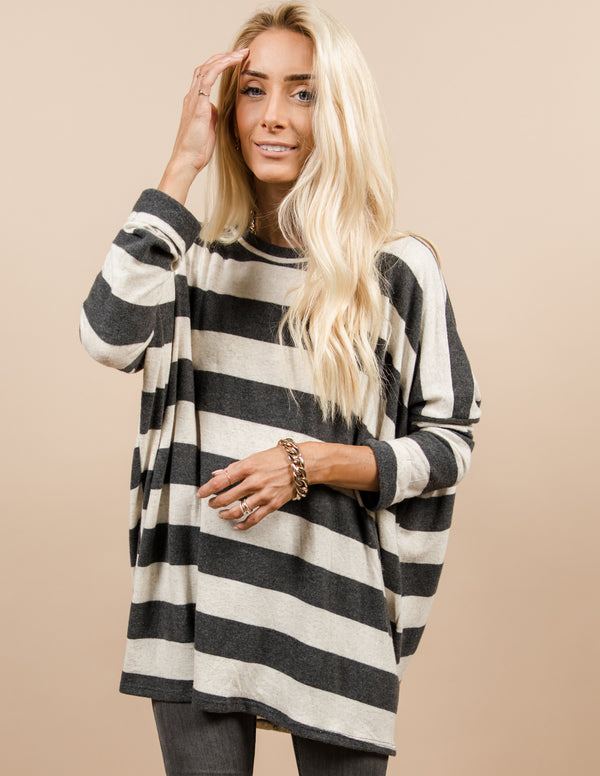 Carly Stripe Top